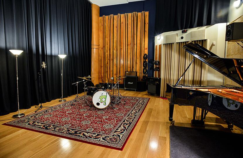 Crank Recording Live Room
