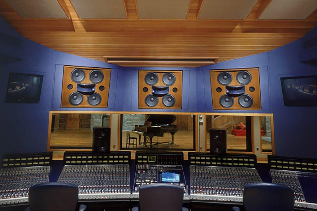 Allaire Recording Studios Control Room