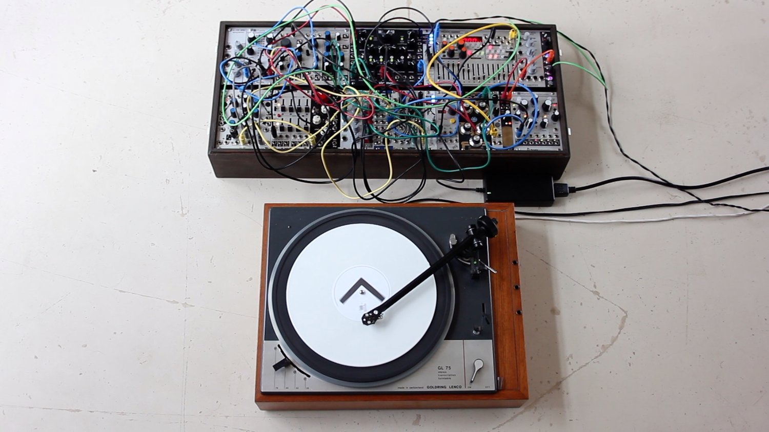 how to turn your record player into a modular synth sequencer. Black Bedroom Furniture Sets. Home Design Ideas