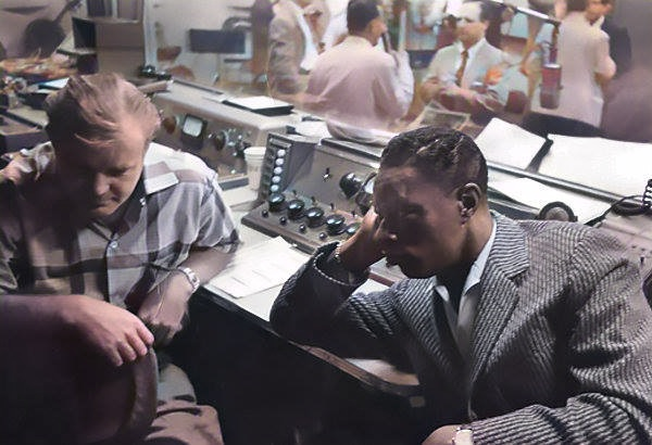 Bill Putnam with Nat King Cole