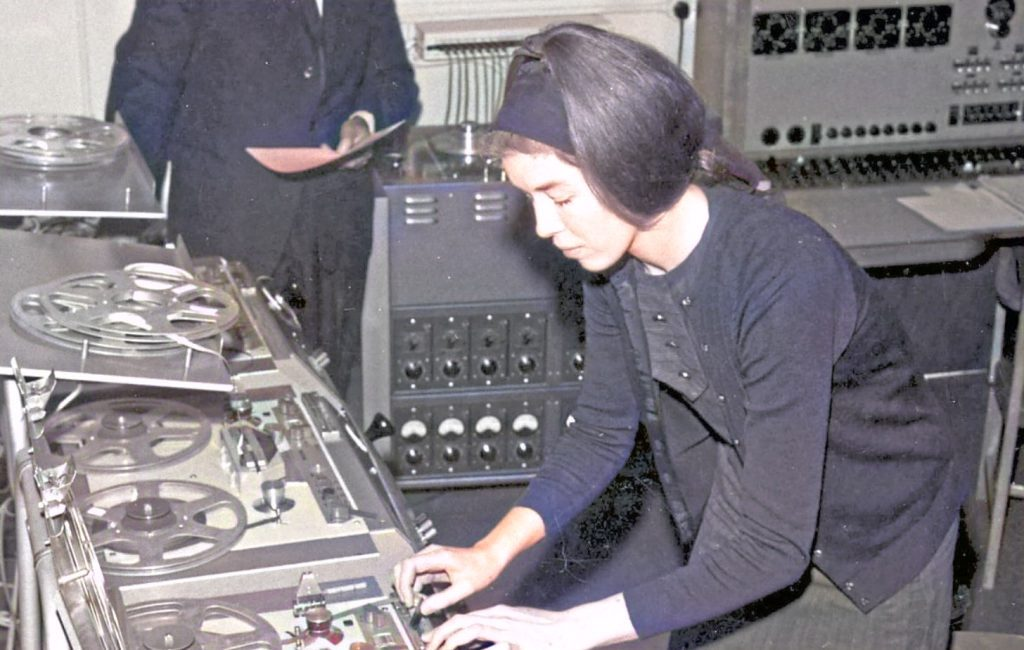 Delia Derbyshire Dr Who