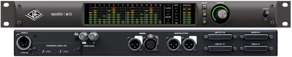Universal Audio Apollo x16 Thunderbolt Audio Interface